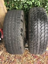tyres  X 2   235x70x15