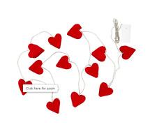Ikea Strala Decor Light Chain set of 12 Heart