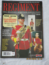REGIMENT MAGAZINE: The Staffordshire Regiment 1705-1995, No. 7 ,von 1995