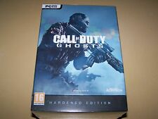 Call of Duty Ghosts Hardened Edition  PC  DVD Game ** New & Sealed**
