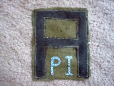 WWI US Army First Army Pioneer Infantry patch wool