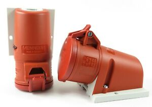 (AMPMECH) MENNEKES RECEPTACLE 31 WITH TWINCONTACT, 16A-5P-415V,IP44