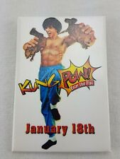 Kung Pow Enter The Fist January 18th 2002 Movie Promo Pin Pinback