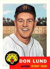 1991 Topps Archives #277 Don Lund > 1953 > Detroit Tigers