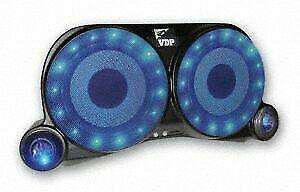For Jeep Wrangler 87-95 VDP 54101 4-Speaker Center Black Sound Wedges w Speakers