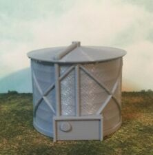 Small FUEL TANK - HO Scale - 1:87 - 6 Sizes AVAILABLE! - Fully Assembled!  USA