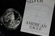 1998-P Proof American Silver Eagle - In Original Box with COA! 3 Coins Available