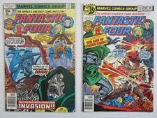 Fantastic Four 2 Issue Run #198 & 199  FN-  Marvel Comic Lot