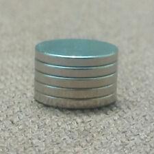 5 N52 Neodymium Cylindrical (1/2 x 1/16) inch Cylinder/Disc Magnets.