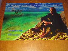 MIKE & THE MECHANICS - BEGGAR ON A BEACH OF GOLD - ORIGINAL UK PROMO POSTER