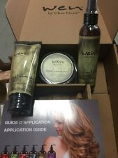 Wen By Chaz Dean Sweet Almond Mint 3 Pieces Brand New Factory Sealed