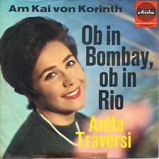 "7"" Anita Traversi, sia in Bombay se a Rio (Blu Cover) // Germany 1963"