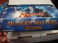 NEW MTG Magic The Gathering MODERN MASTERS 2017 Booster Box New Sealed!