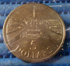 1988 Australia Parliament House $5 Five Dollar Commemorative Coin
