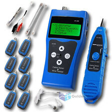 Network Ethernet Lan Phone Tester Wire Tracker Usb Coaxial Cable Nf388bkd