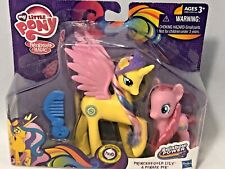 2014 Hasbro hub My Little Pony Princess Gold Lily and Pinkie Pie Figures NRFB