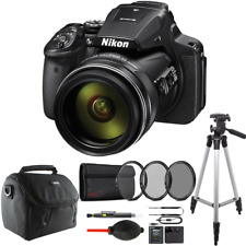 Nikon COOLPIX P900 Digital Camera with 83x Optical Zoom and Accessory Kit