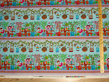 FaIry Land Border Stripe Fairyland Fabric by the 1/2 Yard  #4593