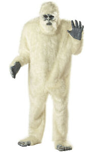 Abominable Snowman Yeti Adult Costume