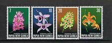 """STAMPS  PNG 1974 Orchids set  of 4 (MNH)  lot 230  """"WE COMBINE POSTAGE"""""""