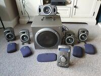 Logitech Z-680 5.1 THX 505w Home Theatre Speaker System