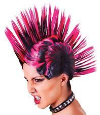Mohawk Wig Unisex Punk Rock Mohican Mohawk Wig Hair Spike Fancy Dress Accessory