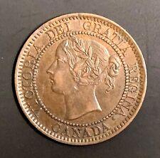 1859 Canada one cent - high grade