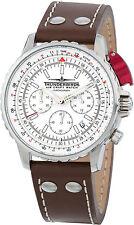 Thunderbirds FightingSteel weißes Zifferblatt Chronograph TB1048-02
