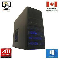 Gaming PC Desktop: Intel Core i5 3.10GHz/RX470/16GB RAM/500GB HDD/64GB SSD/WiFi