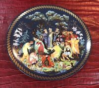 Bradford exchange gifts of the season plate# 165 A New With COA In A Box
