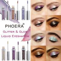 12Colors Fashion Eyeshadow Liquid Glitter Eyeliner Shimmer Waterproof Makeup HOT