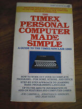 The Timex Personal Computer Made Simple by Joe Campbell, Jonathan D. Siminoff an
