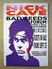 NICK CAVE AND THE BAD SEEDS  MELBOURNE 2003 CONCERT POSTER