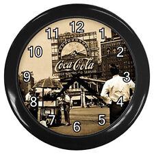 Wall Clock Coca coke Classics Photo  - Coke Cola Retro Photo Rare Design!