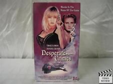 Desperate Crimes VHS Denise Crosby, Traci Lords