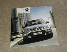 BMW X5 Price Guide Brochure March 2007 - 3.0 Si SE - 4.8i SE - 3.0d SE