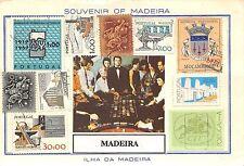 Portugal Souvenir of Madeira Ilha da Madeira, Stamps