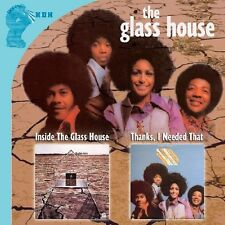 The Glass House, Gla - Inside the Glass House / Thanks I Needed That [New CD]