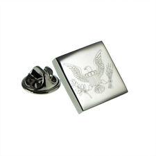 American Eagle Engraved Lapel Pin Badge XOMTP192