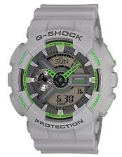 Casio G Shock * GA110TS-8A3 Gshock Watch Matte Ash Grey Neon Green COD PayPal