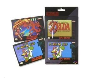 Official SNES Coaster Set, Super Nintendo