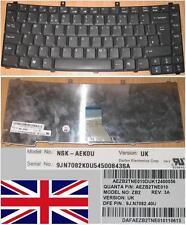 CLAVIER QWERTY UK ACER TM2300 2300 4400 ZB2 NSK-AEK0U 9J.N7082.K0U 9J.N7082.40U