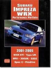 Subaru Impreza WRX Performance Portfolio 2001-2005 by Brooklands Books Ltd...