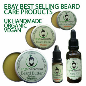 Beard Oils & Balms (Natural) for growth & conditioning, styling, taming. Wax