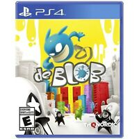 De Blob PS4 BRAND NEW SEALED (Sony PlayStation 4, 2017)