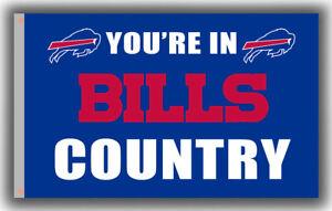 Buffalo Bills Country Football Team Memorable Flag 90x150cm 3x5ft best banner