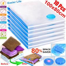 10 x Strong Vacuum Storage Bags Home Storage Bags VAC Space Saving Vacuum Bags