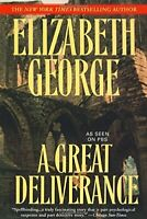 A Great Deliverance: 1 (Inspector Lynley) by George, Elizabeth A Book The Fast