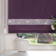 Easy to Fit Diamond Diamante Trim Decorative Border Straight Edge Roller Blinds