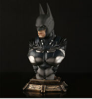 "Arkam Knight Batman 1/3 Bust Recast Resin Figure Statue 11""High With 3 Heads"